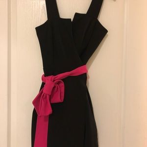 DVF Black Wrap Dress